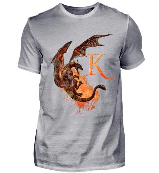 Drachen Buchstabe K