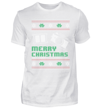 Funny Photographer Shirt Christmas