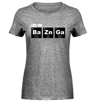 Chemical Elements - got BaZnGa - white