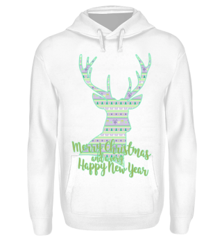 ★ Merry Christmas DEER pattern II