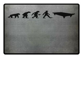 Evolution Of Humans - Snooker Table I