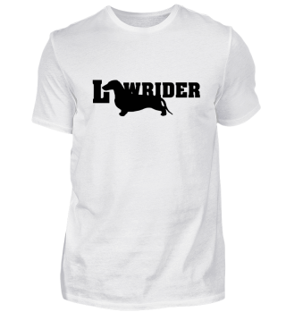 Dachshund - Lowrider - schwarz 1