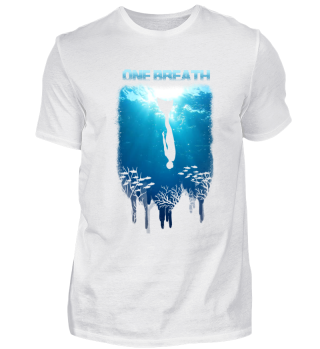 Shirt Freitauchen Apnoe Monoflosse Mono