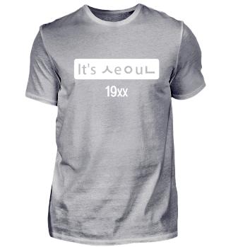 It's Seoul T-Shirt Kpop Korea Shirt