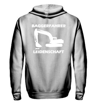 Hoodie für den Baggerfahrer