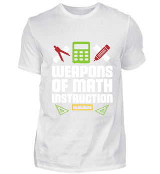 weapons of math gift for mathematican