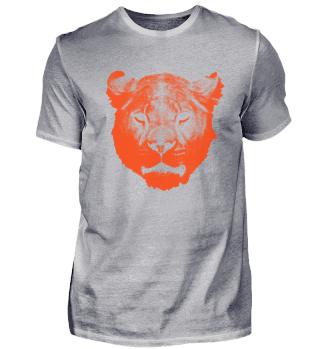 Tiger Kopf Wildkatze Löwin
