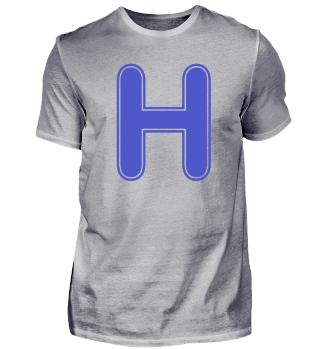 Alphabet - Letter - H