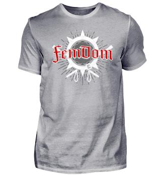 FemDom - Design - T-Shirt Geschenk