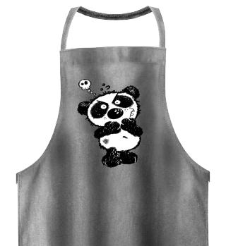 Grumpy Panda Bear I Skull Fun Comic