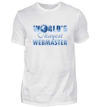 world´s okayest webmaster gift