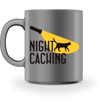 ★ Nightcaching - Flashlight Cat I HOODIE