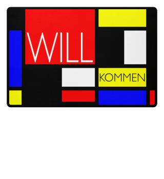 Mosaic DE STIJL Style - WILL KOMMEN