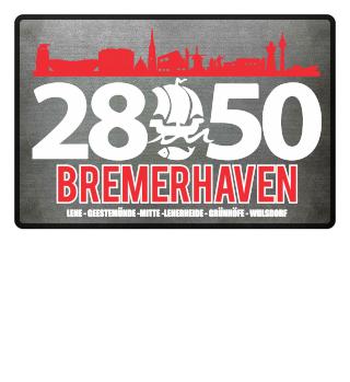 Bremerhaven 2850 Fussmatte