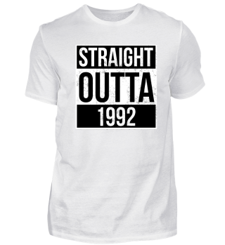 Straight Outta 1992 Funny Birthday Gift