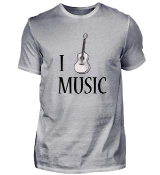 I love Music (Gitarre)