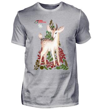 ☛ MERRY CHRISTMAS · DEER #1B