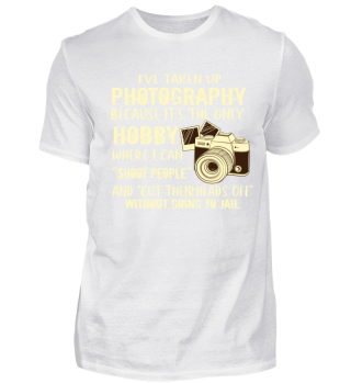 I've Taken up Photography