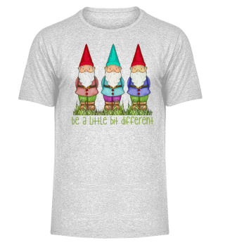 Three Garden Gnomes - be different