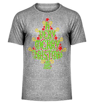 A VERY MERRY CHRISTMAS Tree II