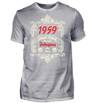 60. Geburtstag Bester Jahrgang 1959