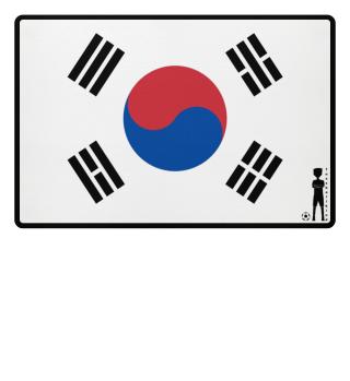 fussballkind - Fussmatte Südkorea