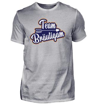 innorando Tshirt - Junggesellenabschied Team Bräutigam