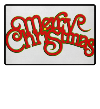 Merry Christmas - Vintage Retro Font