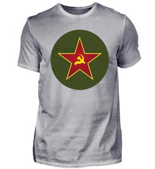 Communism Red Star scuffed - gift idea