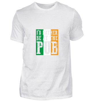 At The Bar gift for Irish People