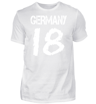 Germany 18 (white/front)