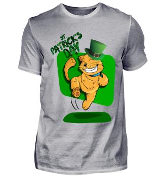 Der St. Patrick's Day Kitty