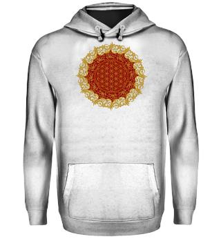 ♥ FLOWER OF LIFE - Vintage Mandala I