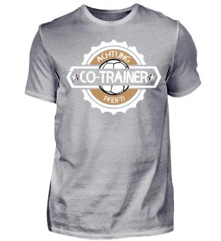 Co-Trainer pfeift! Fussball - Shirt