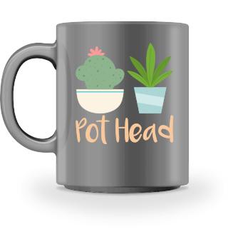 Pot Head - Funny Tshirt