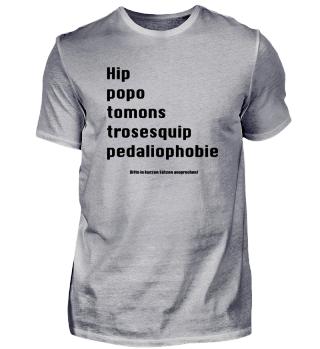 Angst vor langen Wörtern - Hippopotomonstrosesquippedaliophobie