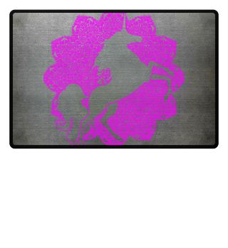 ♥ Vintage Mandala I UNICORN I pink