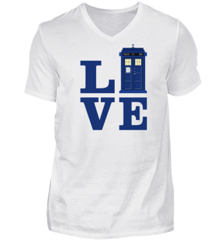 ★ Love Blue Travel Police Box I
