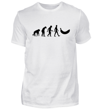 Evolution Of Humans - Banana I
