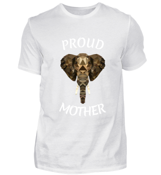 MOTHERS DAY ELEPHANT GIFT ANIMAL MUM