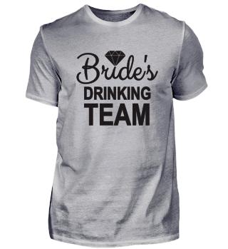 Wedding Brides Drinking Team Gift Idea