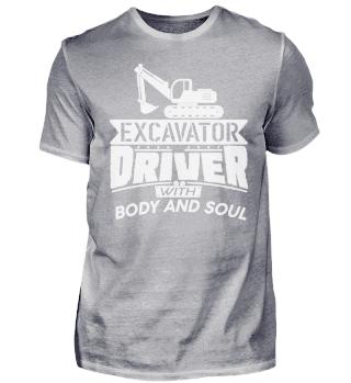 Excavator construction site - Body