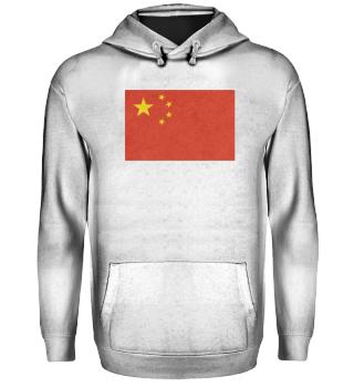 China Flagge Design Motiv Geschenkidee