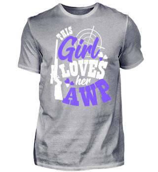 Girl Love AWP Gaming