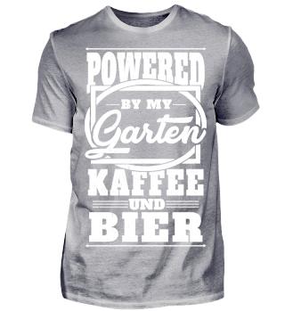 Powered by my Garten Kaffee und Bier