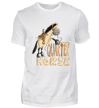 Happy Quarter Horse - Westernpferd