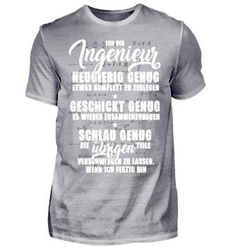 T-Shirt für den cleveren Ingenieur