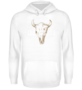 CEO LYLF Front White Hoodie
