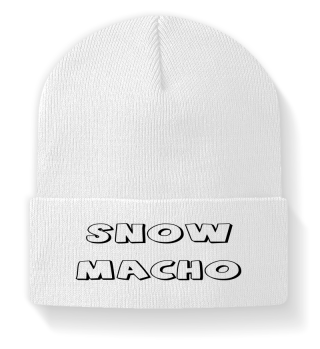 Snow Macho Beanies