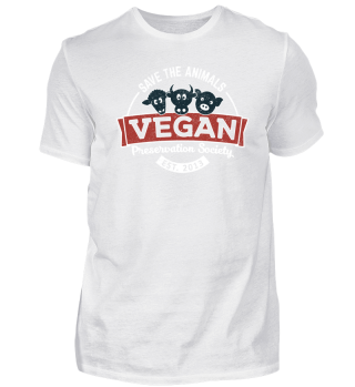 Save The Animals Vegan Preservation Gift